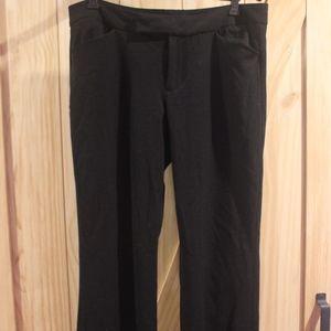 Nine West Black Dress Pants size 12
